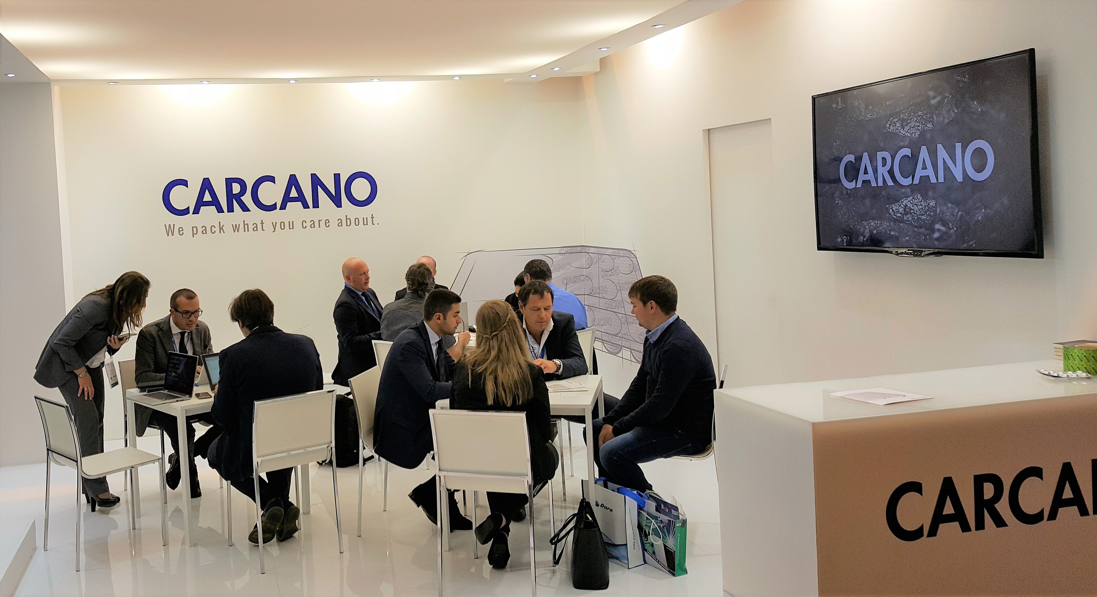 Stand Carcano a CPHI 2018